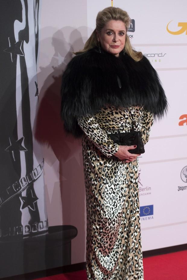Catherine Deneuve no European Film Awards (Foto: APF)