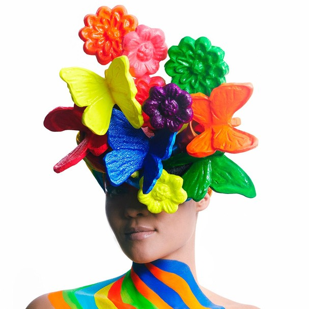 Maquiagem de Carnaval por Marcos Costa (Foto: Danilo Apoena/Glamour)