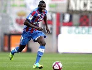 Mbaye Niang caen novo atacante do Milan (Foto: Agência AFP)