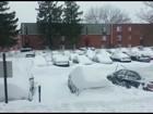 Brasileira relata como tempestade de neve está afetando a Filadélfia