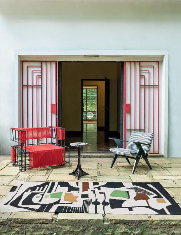 Estilo Tendência na Casa Modernista (Foto: Ruy Teixeira )