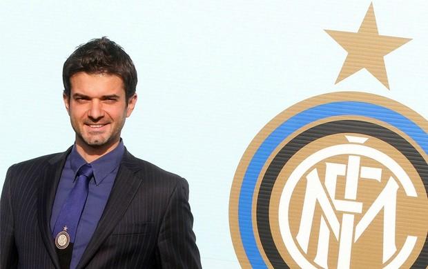 Andrea Stramaccioni técnico Inter de Milão (Foto: EFE)