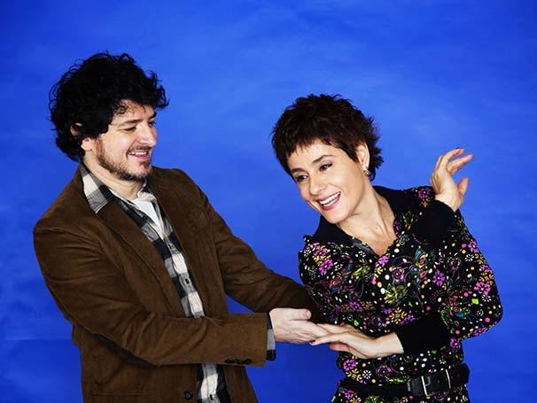 Soraya Ravenle e Guilherme Piva vivem um casal divorciado (Foto: Leo Aversa)