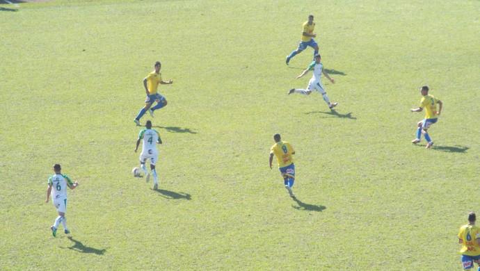 XV de Jaú x Araçatuba (Foto: Tiago Pavini / XV de Jaú)