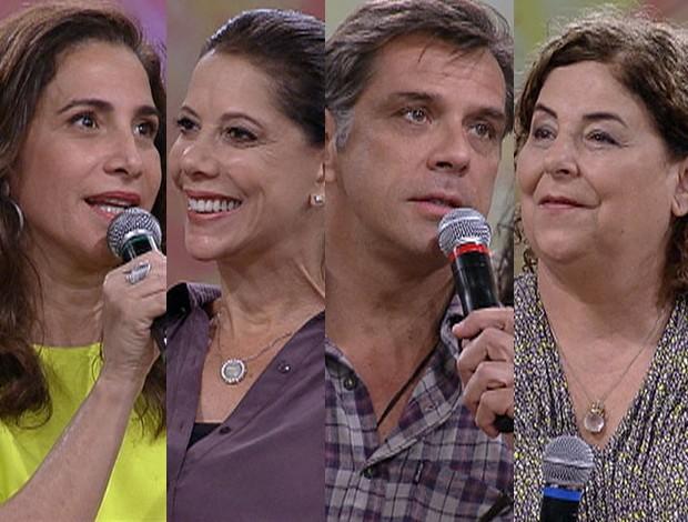 Famosos debatem sobre a temida chegada dos 50 e 60 anos (Foto: Encontro / TV Globo)