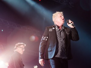 The Offspring anima o público no Palco Sunset no Rock in Rio 2013 (Foto: Luciano Oliveira/G1)