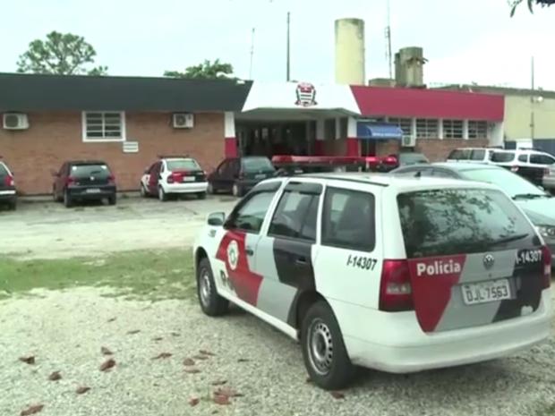 1° Distrito Policial de Iguape; Delegacia de Iguape (Foto: Reprodução / TV Tribuna)