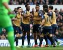 Arsenal se recupera de eliminações e volta a vencer e sonhar após tropeços