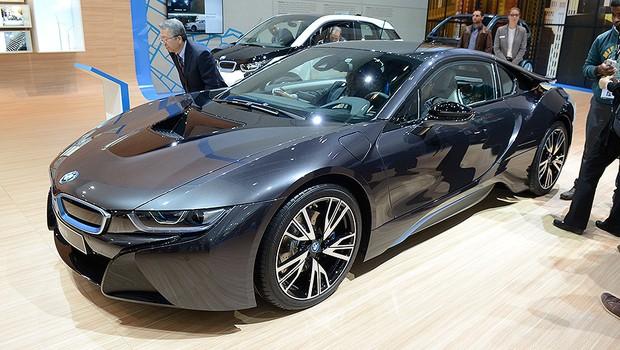 BMW i8 no Salão de Frankfurt 2015 (Foto: Newspress)