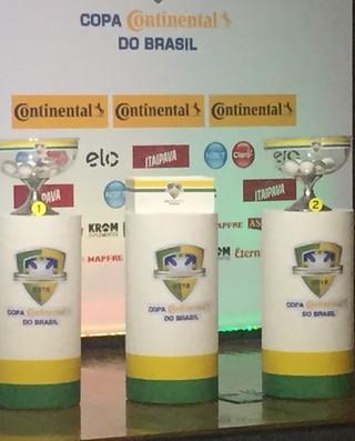 Sorteio Copa do Brasil (Foto: Thiago Lima / GloboEsporte.com)