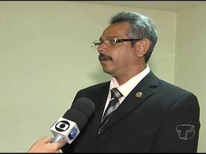 Juiz arbitral informou que o prazo para a inauguração da Câmara de Mediação e Arbitragem é de 15 dias. (Foto: Reprodução/TV Tapajós)