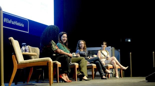 Empreendedoras durante evento Elafazhistória, em São Paulo (Foto: PEGN/Nicole Wey)