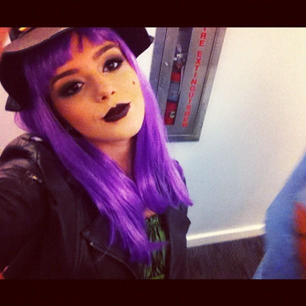 Giovanna Lancellotti se fantasia de bruxa para o Halloween (Foto: Instagram/ Reprodução)