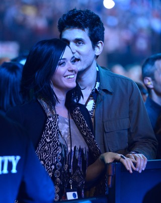 Katy Perry e John Mayer (Foto: Kevin Mazur/ Getty Images)