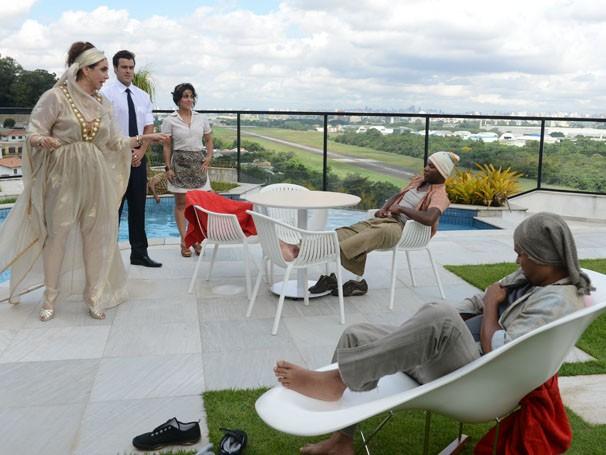 Marisa Orthe interpreta ricaça que fará de tudo para ter seu amado de volta (Foto: Divulgação/TV Globo)