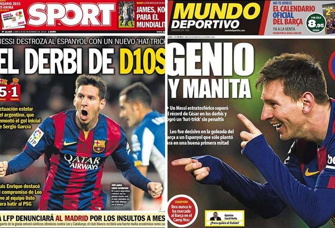 1655eb8d48 Jornais da Catalunha exaltam mais um