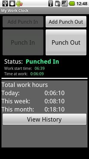 My Work Clock