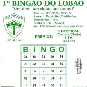 Bingo Guaraí  (Foto: Divulgação/ Guaraí )