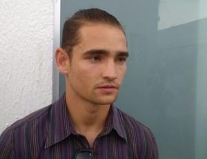 Arthur Caculé, jogador e amigo de Arthur Maia (Foto: Viviane Leão/GloboEsporte.com)