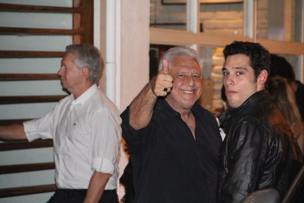 Antônio e Bruno Fagundes (Foto: Rodrigo dos Anjos/Agnews)