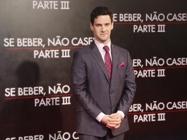 Justin Bartha (Foto: Roberto Filho/ Ag.News)