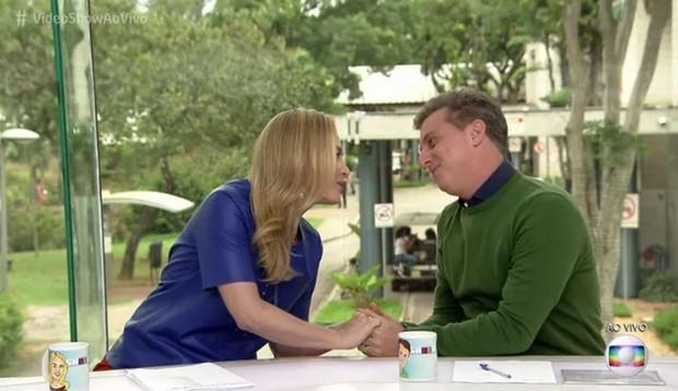Angelica e Luciano Huck apresentaram o Video Show nesta quarta-feira, 16 (Foto: Reprodução/Globo)