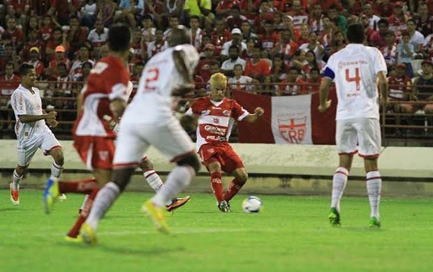CRB x América-RN, em Maceió (Foto: Ailton Cruz/ Gazeta de Alagoas)