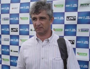 Lucho Nizzo, novo técnico do Goytacaz (Foto: ASCOM/Goytacaz)
