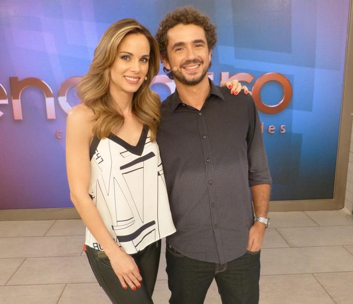 Os apresentadores Ana Furtado e Felipe Andreoli  (Foto: Ana Puñal/Gshow)