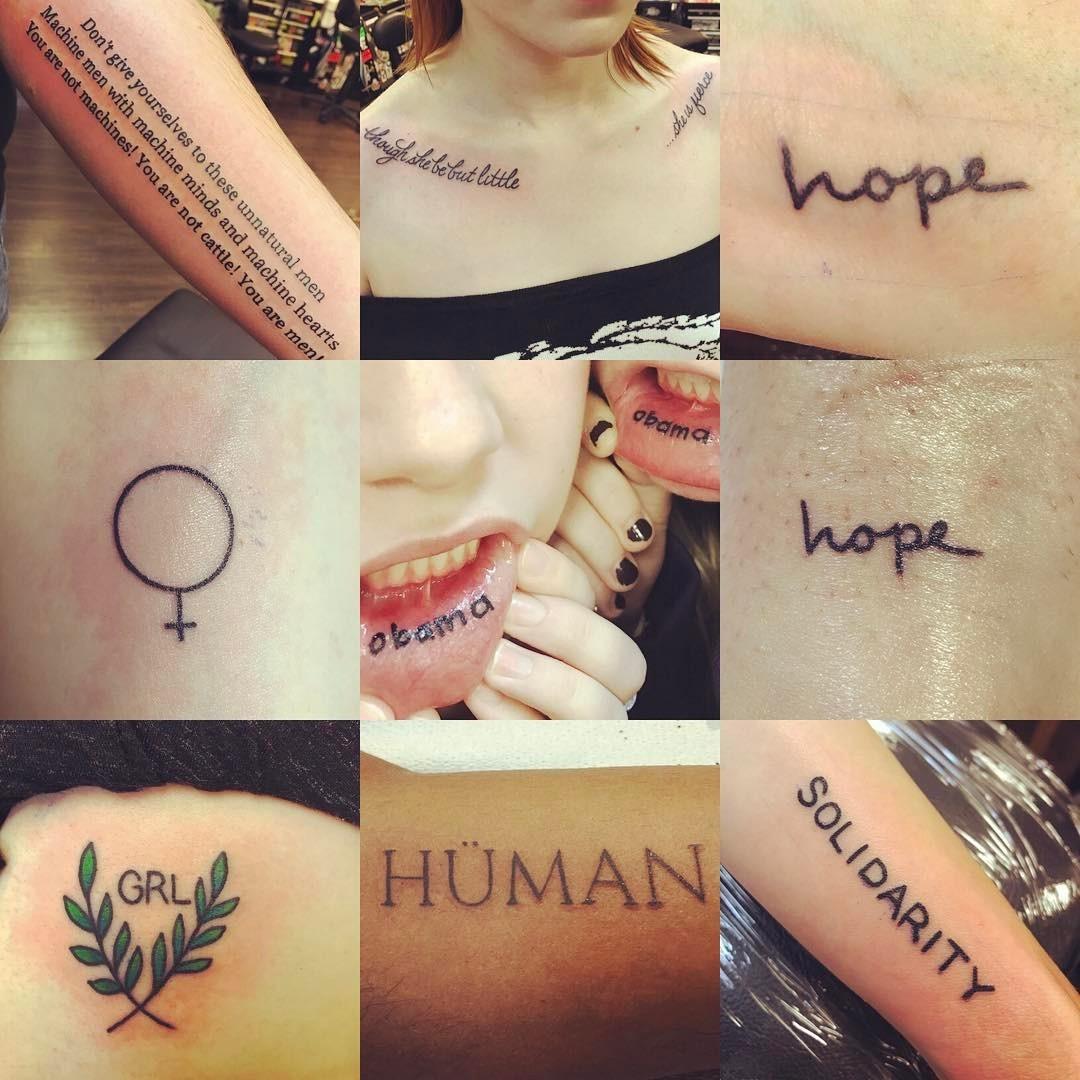 Mais tatuagens feitas por Nikki