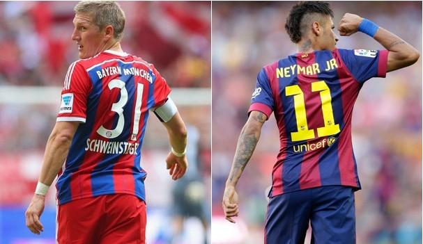 TV Rio Sul transmite Bayern de Munique e Barcelona pela Liga dos Campeões nesta terça-feira (12) (Foto: Reprodução Globoesporte)