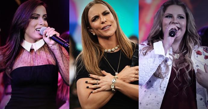 Incadas Melhores do Ano na categoria Cantora (Foto: TV Globo)