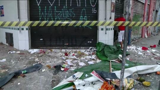 Explosão em bar deixa feridos na Vila Mariana, na Zona Sul de SP