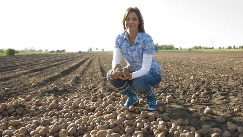 mulheres_agronegocio_agricultura_campo (Foto: Thinkstock)