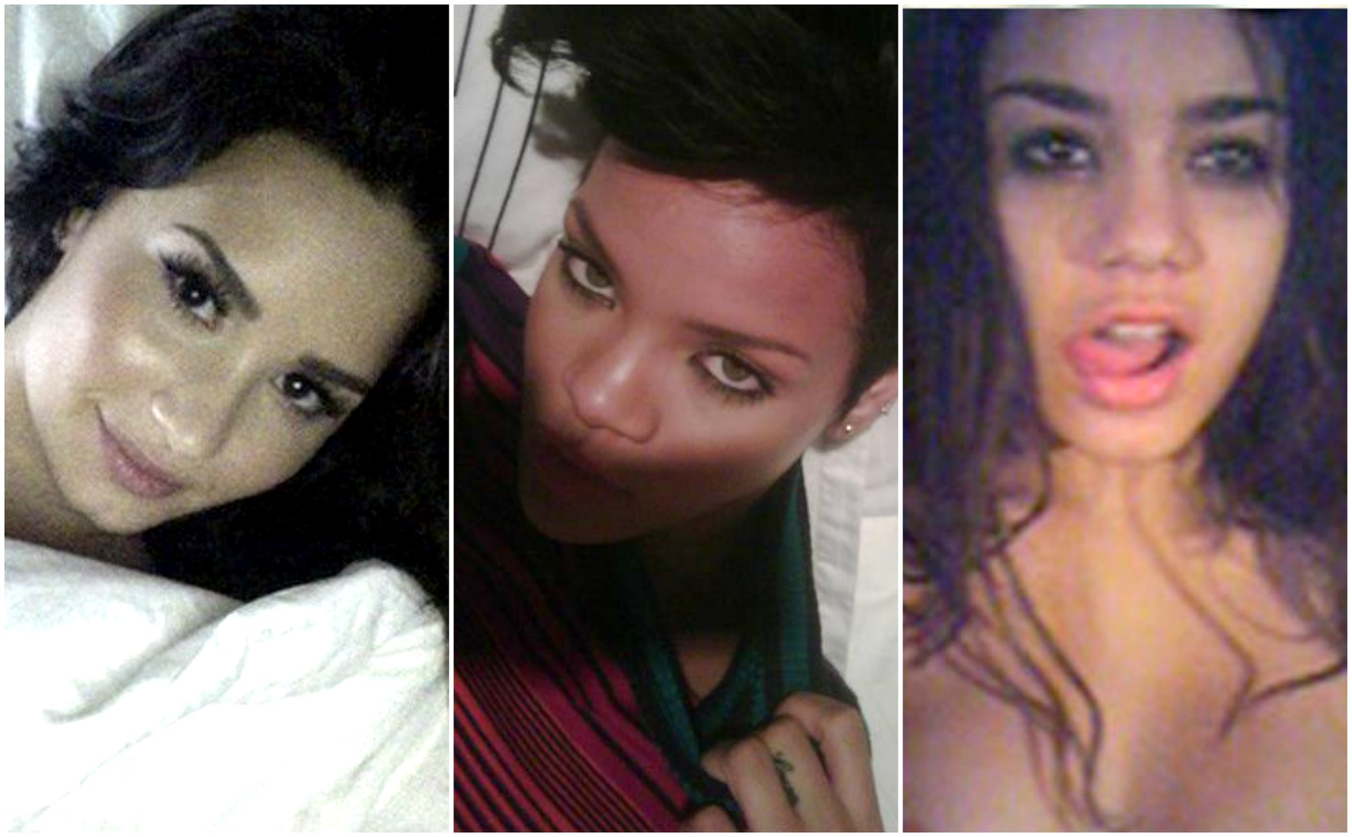 rihanna and vanessa hudgens naked pictures