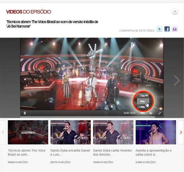 Stereo vídeo2 (Foto: The Voice/TV Globo)