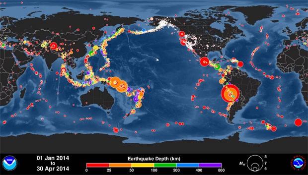 Trecho de vídeo mostra locais  (Foto: Reprodução/YouTube/PacificTWC)