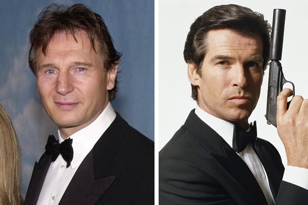 Liam Neeson perdeu o papel de James Bond para Pierce Brosnan (Foto: Getty Images / Reprodução)