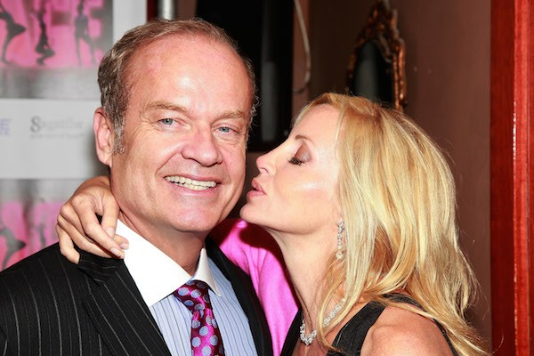 O ator Kelsey Grammer e sua esposa, Camille Donatacci Grammer (Foto: Getty Images)