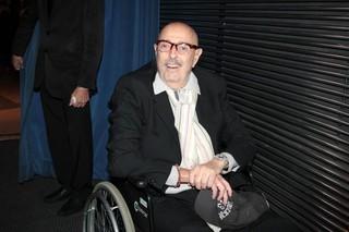 Hector Babenco em estreia de peça em São Paulo (Foto: Orlando Oliveira/ Ag. News)