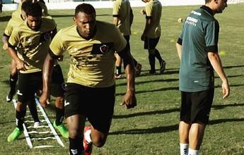 Focado no duelo com o Campinense, Bota-PB encerra feriado com treino