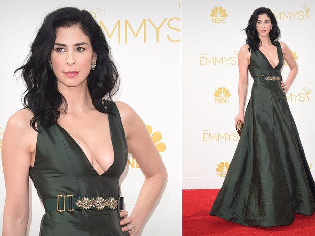 [620] Emmy Awards 2014 Sarah Silverman (Foto: Getty Images)