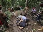 Índios realizam operação para conter desmatamento em área do Maranhão