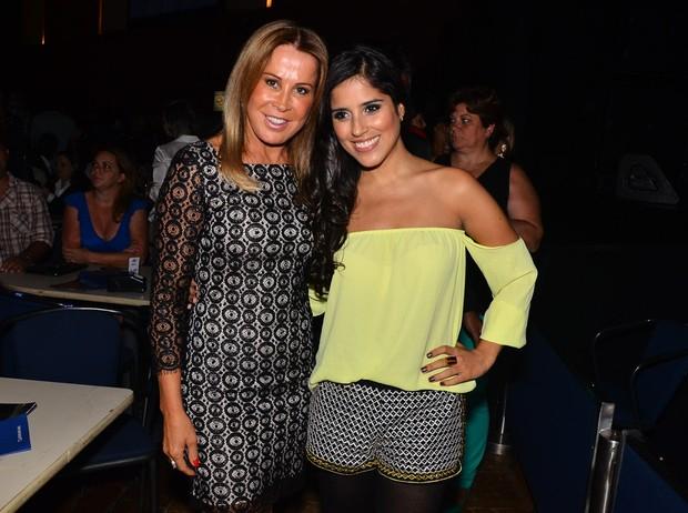 Zilu e Camilla Camargo (Foto: Caio Duran/Agnews)