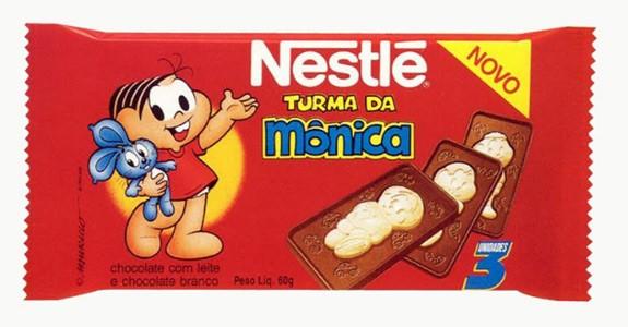 Chocolate Turma da Mônica. Maurício de Sousa ainda não confirmou quem será a distribuidora, tampouco a data de lançamento. Mas o retorno é certo! (Foto: Divulgação)