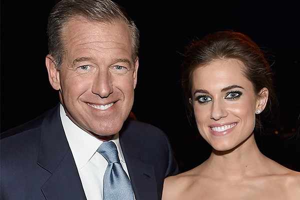 Brian Williams e Allison Williams (Foto: Getty Images)