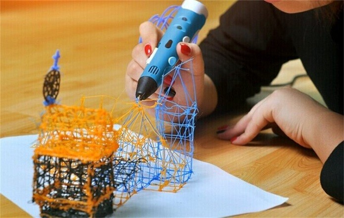 Caneta 3D pode ser usada para criações mais simples (Foto; Divulgação/UP3D)