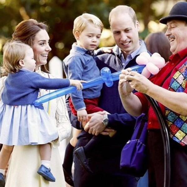 Família real inglesa durante visita ao Canadá (Foto: Reprodução / Instagram)