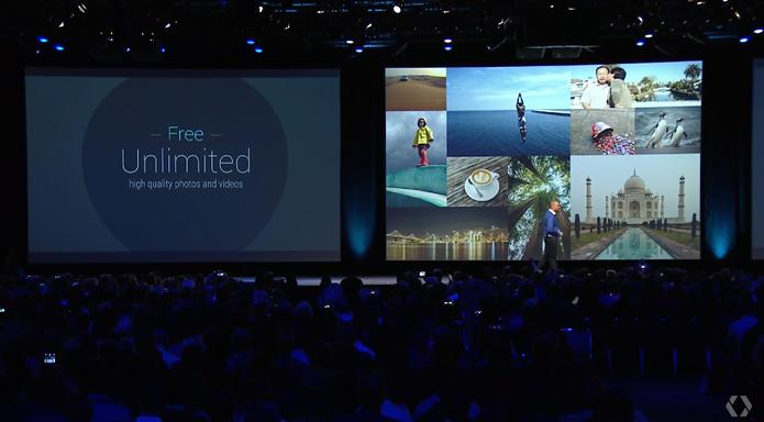 App Google Photos vai permitir armazenamento de imagens ilimitado (Foto: Reprodução/Google)