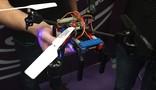 Drone de lego (Bruno Araujo / G1)
